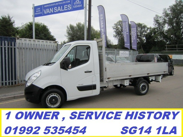 RENAULT MASTER ALLOY DROP SIDE , FULL SERVICE HISTORY