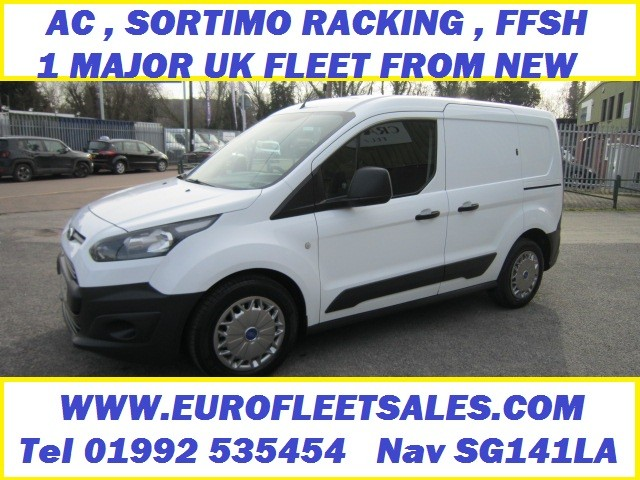 FORD CONNECT , AC , FSH , SORTIMO RACKING , EXCEPTIONAL VAN