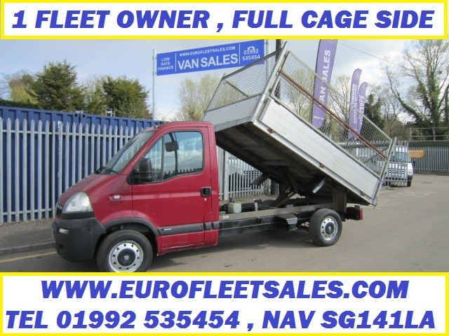 MOVANO FULL CAGE SIDE TIPPER