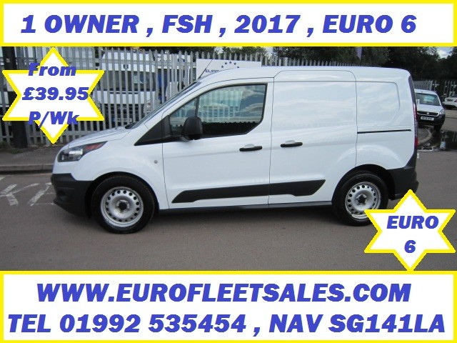 CY66OAN 2017 EURO 6 FORD CONNECT