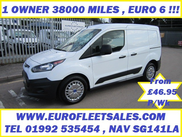 2017 FORD CONNECT , EURO 6 , ULEZ COMPLIANT 38000 MILES