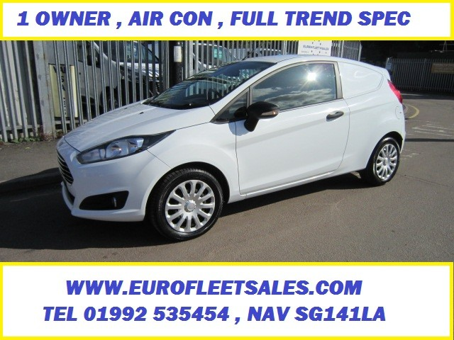 FIESTA VAN , FULL TREND SPEC , AIR CONDITIONING 74K