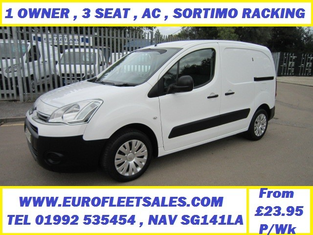 2013 BERLINGO ENTERPRISE , SORTIMO RACKING , AC