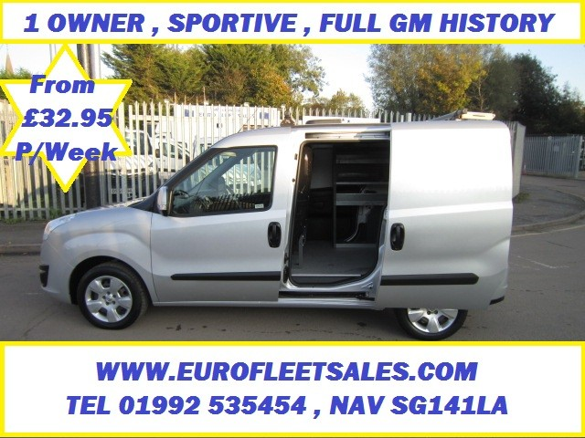 2015 VAUXHALL COMBO SPORTIVE