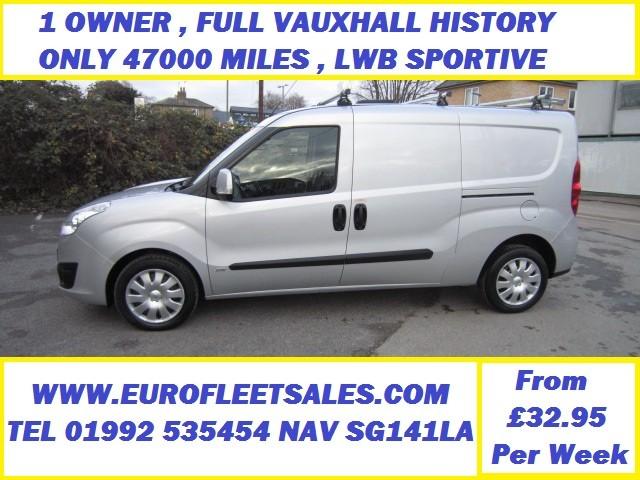 Vauxhall Combo 1.3 CDTi ecoFLEX 16v Sportive 2300 L2 LWB