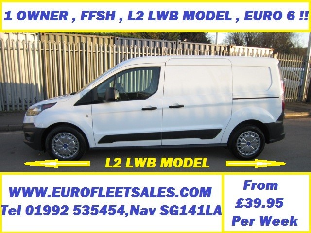 EURO 6 FORD CONNECT L2 LWB 75000 MILES
