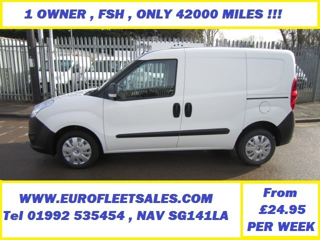 2015/65 VAUXHALL COMBO , ONLY 42000 MILES !!!