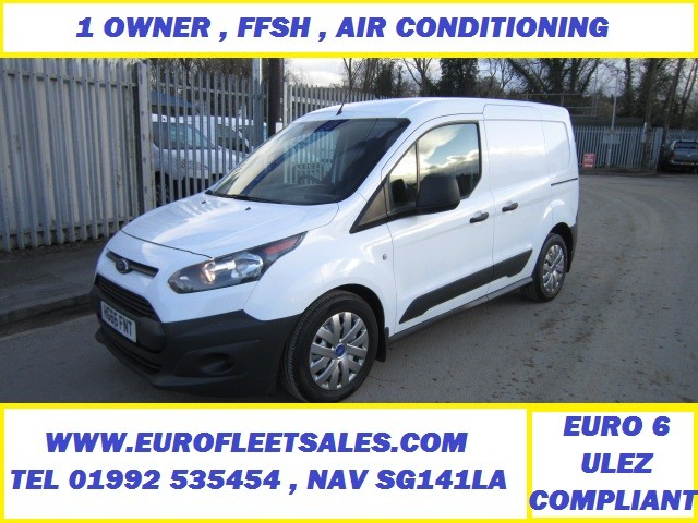 EURO 6 FORD CONNECT , FFSH , AIR CONDITIONING
