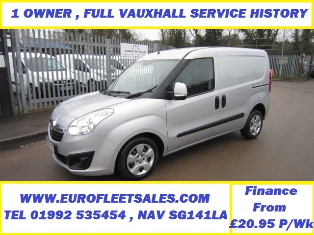2015 VAUXHALL COMBO L1 SPORTIVE