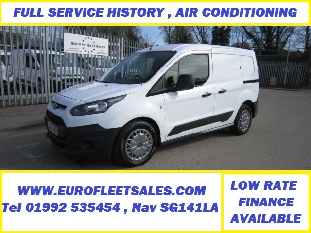 2014 TRANSIT CONNECT , AIR CONDITIONING , FSH