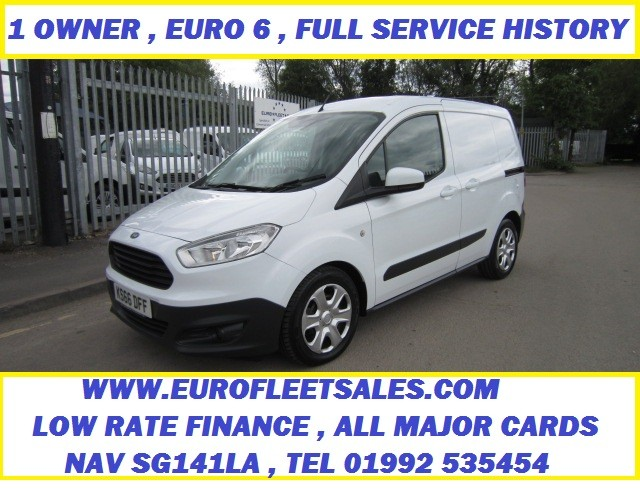 EURO 6 FORD COURIER TREND + AC
