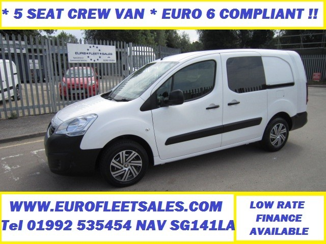 EURO 6 (LONDON COMPLIANT) PARTNER L2 CREW VAN