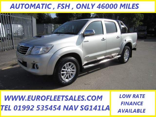 TOYOTA HI-LUX INVINCIBLE AUTOMATIC , ONLY 46000 MILES
