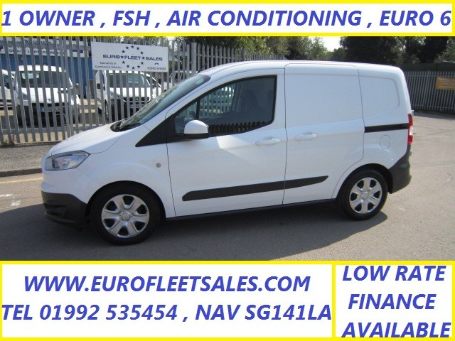 EURO 6 FORD COURIER TREND + AIR CONDITIONING