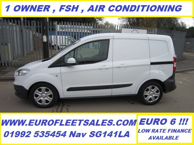 EURO 6 , FORD COURIER TREND + AIR CONDITIONING