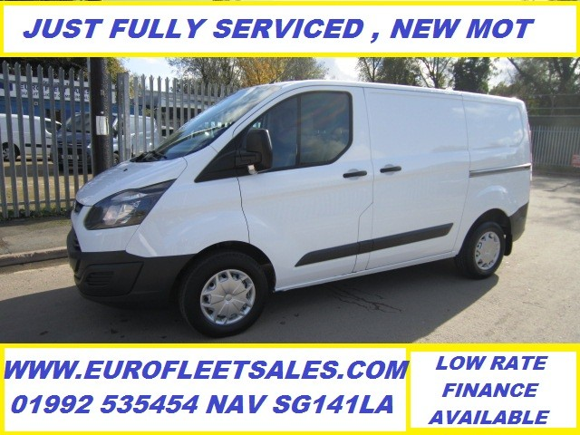 2016/16 FORD TRANSIT CUSTOM , NEW MOT