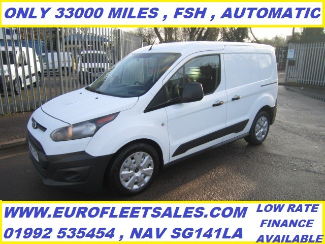 2017/66 CONNECT L1 POWERSHIFT , EURO 6 !! ONLY 33000 MILES