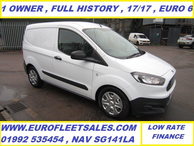 2017/17 EURO 6 TRANSIT COURIER + AIR CONDITIONING  , KP17OTN