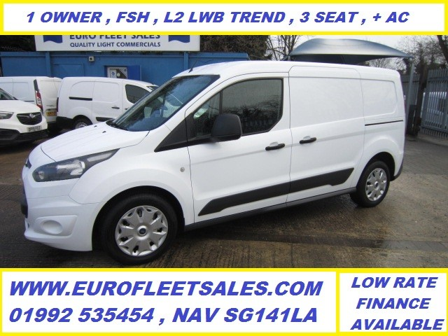 TRANSIT CONNECT L2 LWB TREND + AIR CONDITIONING , ** 3 SEAT** KU66AOF
