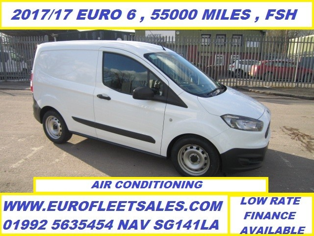2017/17 EURO 6 FORD TRANSIT COURIER + AIR CONDITIONING