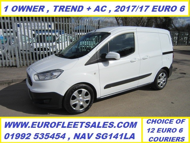 ET17XEZ TRANSIT COURIER TREND + AIR CONDITIONING , EURO 6 !!