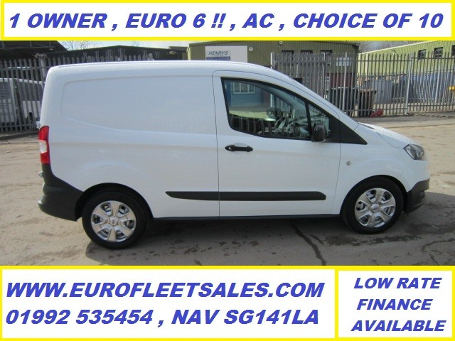 KS17KZJ , TRANSIT COURIER , EURO 6 + AIR CONDITIONING