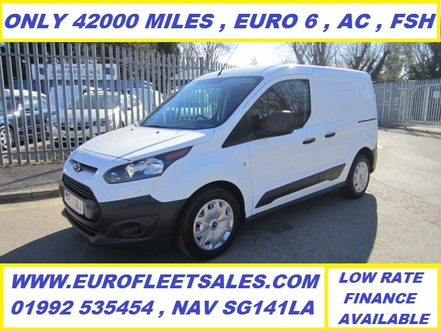 EURO 6 FORD TRANSIT CONNECT , 42000 MILES , AIR CONDITIONING 2017/67