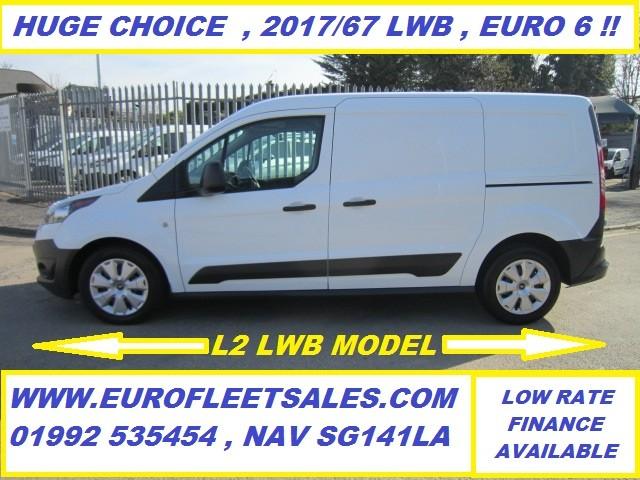 2017/67 EURO 6 , LWB CONNECT , 69000 MILES