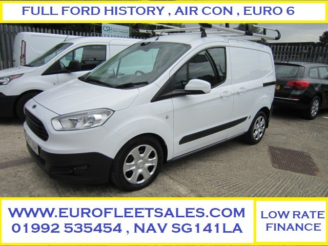 2017 EURO 6 , TRANSIT COURIER TREND + AIR CONDITIONING , EU6