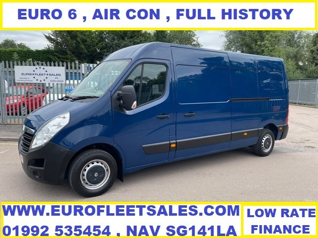 2017/17 MOVANO L3 H2 EURO 6 + AIR CONDITIONING