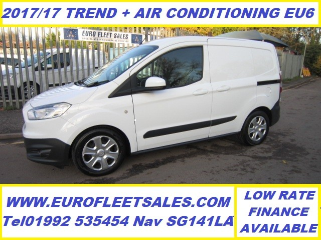 2017 EURO 6 , FORD TRANSIT COURIER TREND + AIR CONDITIONING