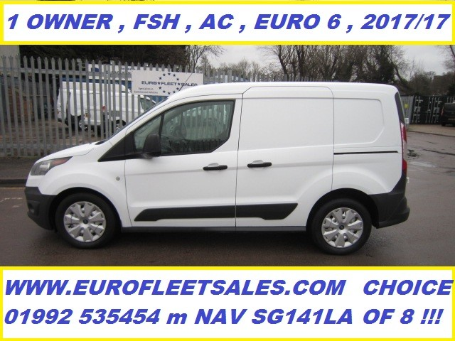 2017/17 Ford Transit Connect , EURO 6 + AIR CONDITIONING , KU17CMF