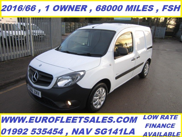 2016/66 MERCEDES BENZ CITAN , 1 OWNER , FSH