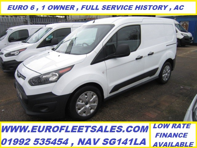 2017/17 EURO 6 FORD TRANSIT CONNECT + AC KU17CSY