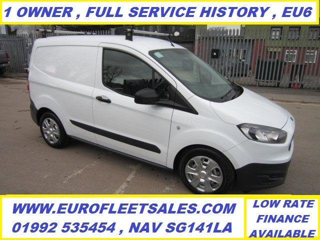 EURO 6 2017/17 FORD TRANSIT COURIER + AIR CONDITIONING , KS17KYG