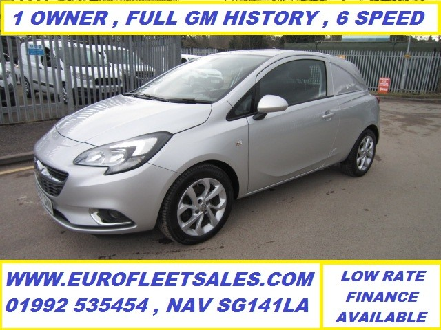 2017/67 VAUXHALL CORSA SPORTIVE 6 SPEED (SILVER)
