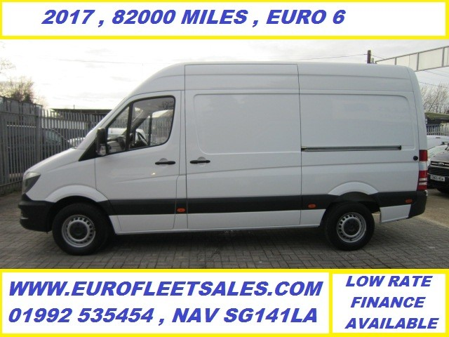 2017/66 EURO 6 , MERCEDES SPRINTER MWB HR