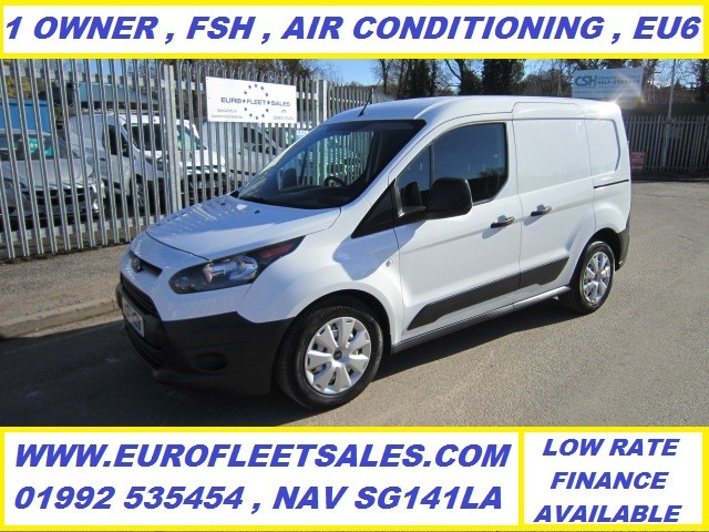 KS17KZB , EURO 6 , 2017/17 TRANSIT CONNECT + AIR CONDITIONING