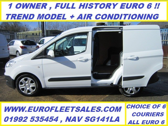 KS17KYE Transit Courier Trend , EURO 6 + AIR CONDITIONING