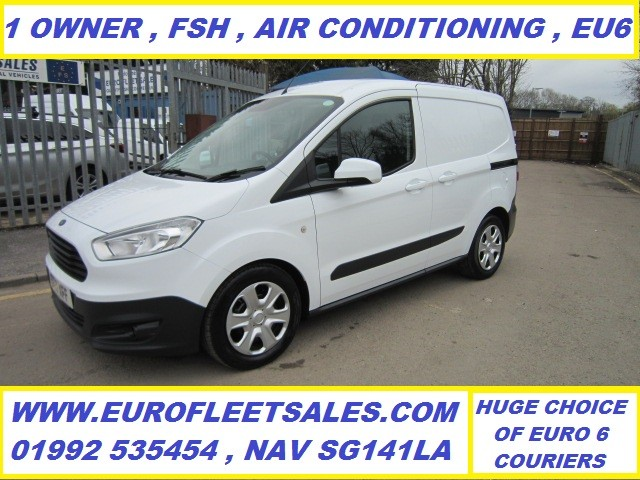 ET17XFF TRANSIT COURIER TREND + AIR CONDITIONING , EURO 6