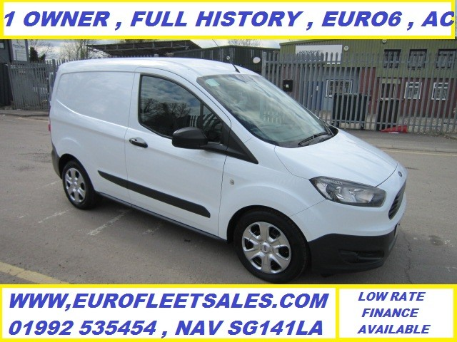 2017/67 EURO 6 , FORD TRANSIT COURIER + AIR CONDITIONING