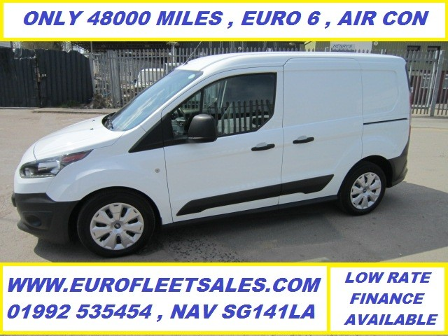 2017/67 EURO 6 TRANSIT CONNECT + AIR CONDITIONING , 48000 MILES