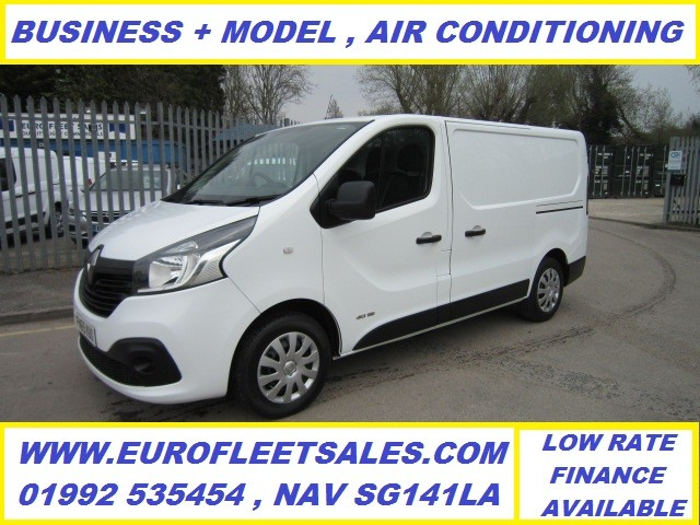 2015/65 RENAULT TRAFIC BUSINESS PLUS (AIR CONDITIONING)